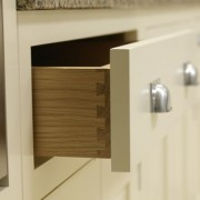 Oak dovetailed drawer box