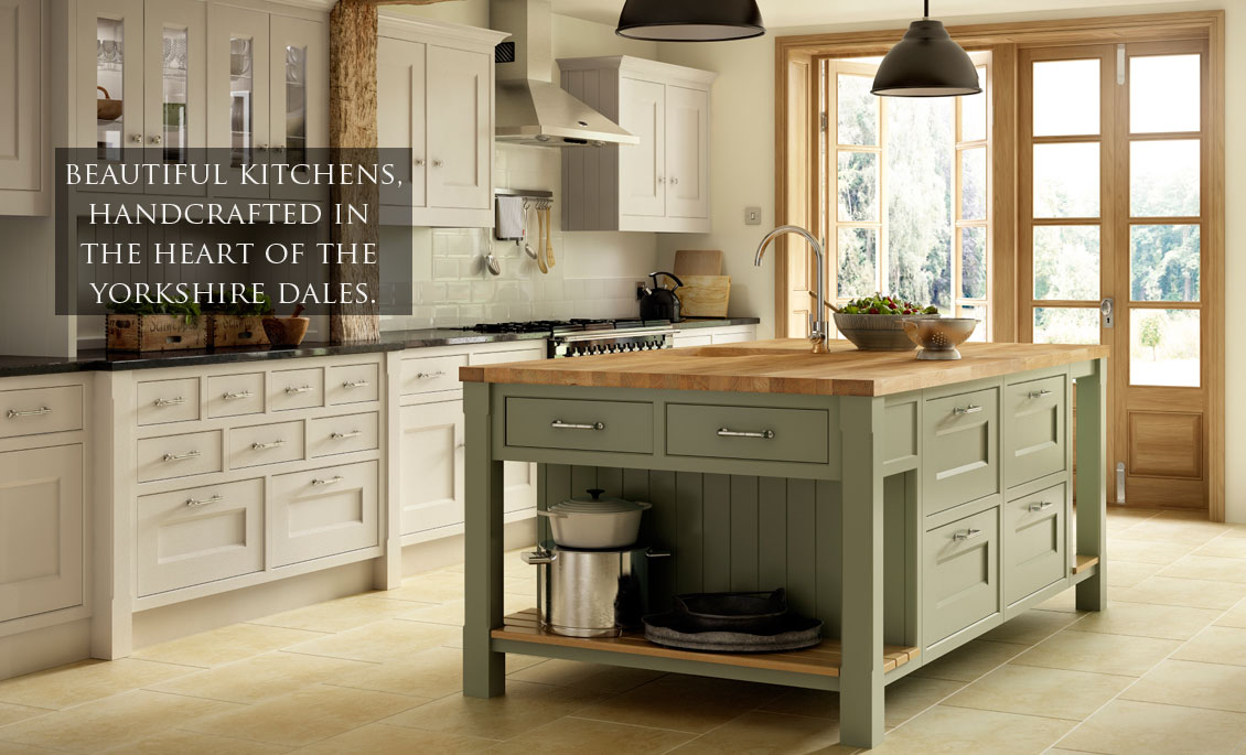 Kitchens Hand-Crafted in Yorkshire by Dalesmade